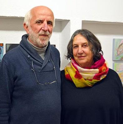 Carlo Wachs y Esther Hofmann en Galería 22